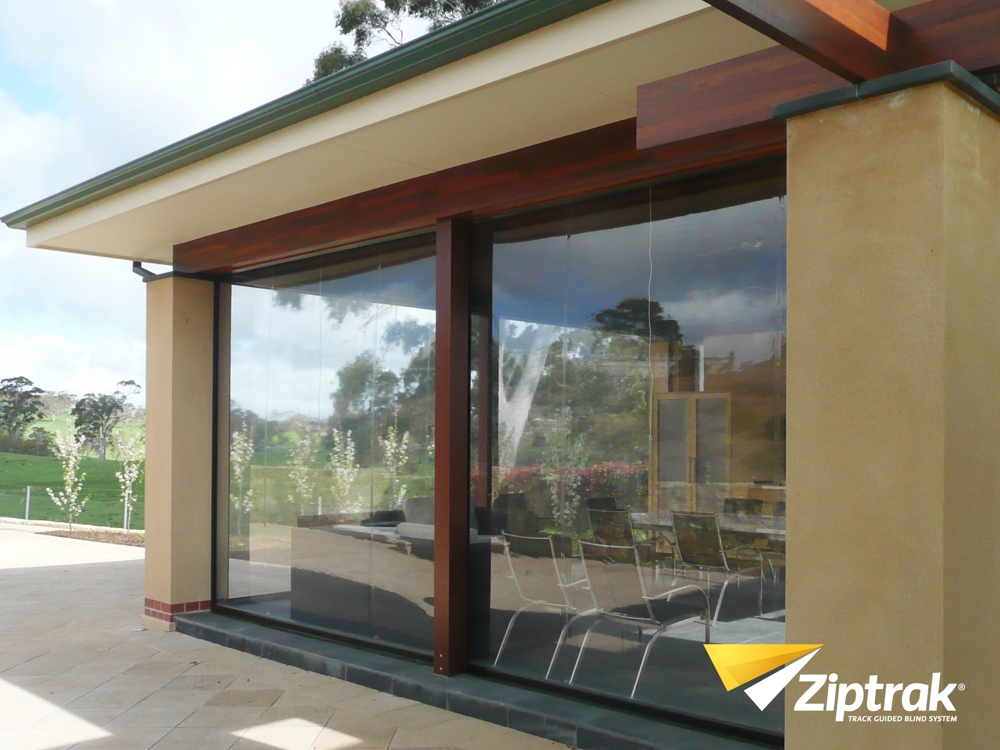Ziptrak Patio Blind